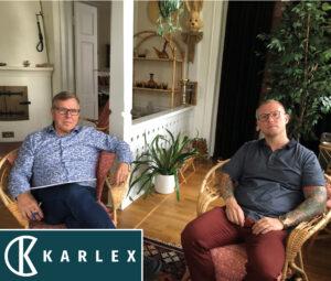 Kuvassa Karl-Magnus ja Karl-Johan Spiik